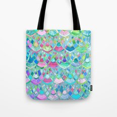 Art Deco Watercolor Patchwork Pattern 2 Tote Bag