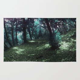 hometown forest Rug