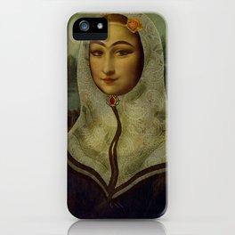 Persian mix: The Mona Lisa iPhone Case