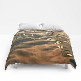 Water Reflection 4 Comforters