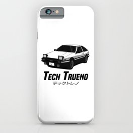 Tech Trueno iPhone Case