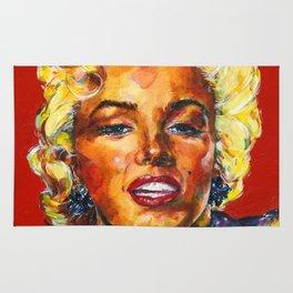 Goddess Marilyn by Kathy Morton Stanion Rug