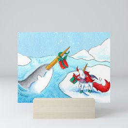 Unicorn Gift Exchange Mini Art Print