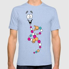 Mr. DNA 1 Mens Fitted Tee LARGE Tri-Blue