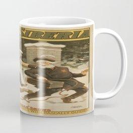 Vintage poster - Lost in Siberia Coffee Mug