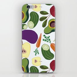 vegetables iPhone Skin