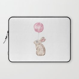 Rabbit Greetings Laptop Sleeve
