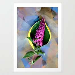 Anthurium Fantasy Art Print