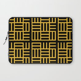 The Black lines pattern Laptop Sleeve
