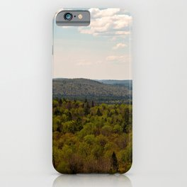 Large panorama of algonquin park iPhone Case