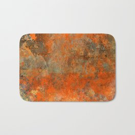 Stone on Fire Bath Mat