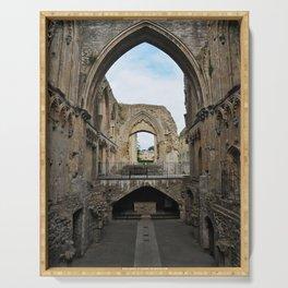 Glastonbury Abbey Serving Tray