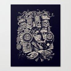 Mictecacihuatl 2 Canvas Print