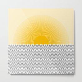 Sunrise I Metal Print