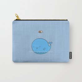 The Whale and the Snail Carry-All Pouch