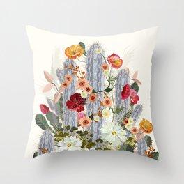 Cacti Deja Throw Pillow