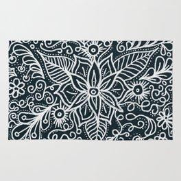 Chalkboard Tangle Rug