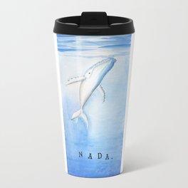 Nada - White Humpback Whale Travel Mug