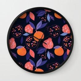 Fruit Gathering Wall Clock