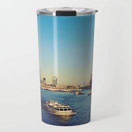 Sunny Day at London River Travel Mug