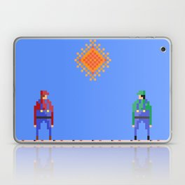 Mario vs Luigi Laptop & iPad Skin