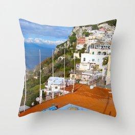 Isle of Capri! Throw Pillow