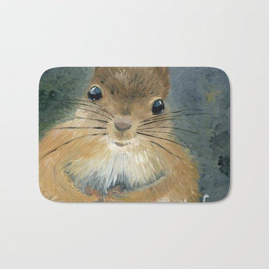 Last Nut for my Squirrel Bath Mat