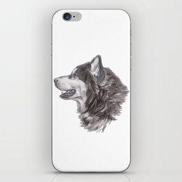 Gotta draw the Husky Doggie iPhone Skin