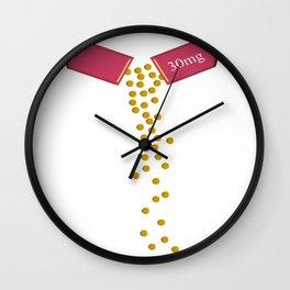 The Big Pill Wall Clock