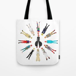Heroes Circle Group Tote Bag