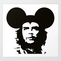 Guevara Mouse Art Print