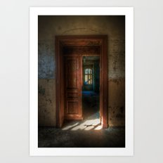 From light to dark Art Print