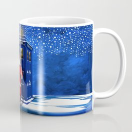 10th Doctor who Santa claus Coffee Mug