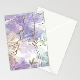 Posy Cluster -- muted Stationery Cards