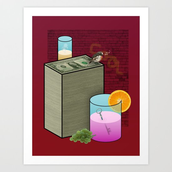 Fun and Cool and Interesting and Friendly Art Print