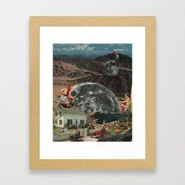 Hight. Framed Art Print