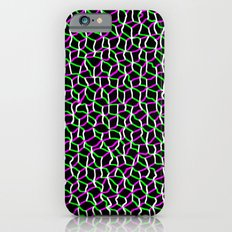Pink/Green Web iPhone 6 Slim Case