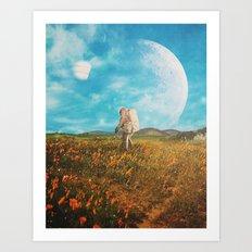 Landloping Art Print