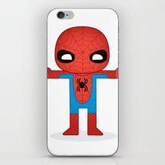 SPIDER MAN ROBOTIC iPhone & iPod Skin