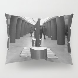 Tube Station Brandenburg Gate in Berlin Pillow Sham