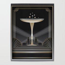 Art deco design VI Poster