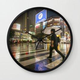 Shibuya Crossing Japan Wall Clock