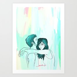 my room of happiness Art Print