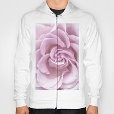 Pink Heart of a rose Roses Flowers Hoody