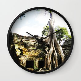 The Tree Temple Wall Clock
