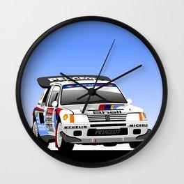 Peugeot 205 T16 Turbo  Wall Clock