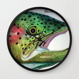 Feelin' Fishy Wall Clock