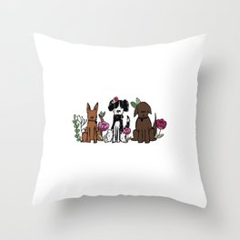 The Rescues Throw Pillow