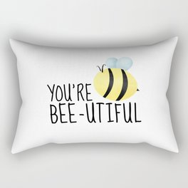 You're Bee-utiful Rectangular Pillow