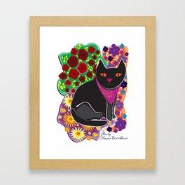 Felicity Flower-Bunchkins Framed Art Print